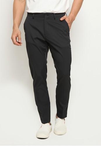 The Executive black 4-Way Stretch Slim Fit Long Pants C0749AAA30F5B0GS_1