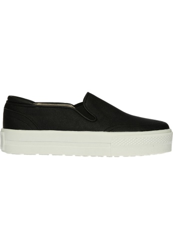 paperplanes black SNRD-137 Basic Style Tall Up Casual Slip-Ons Shoes US  Women