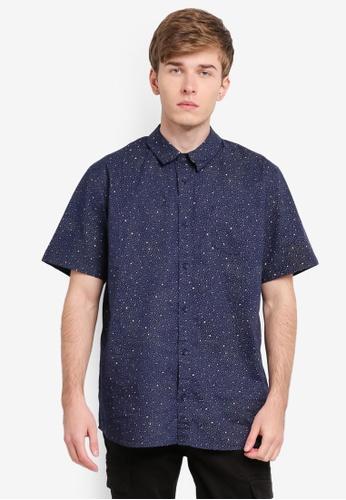 Factorie navy Indie Shirt FA880AA0SKMEMY_1