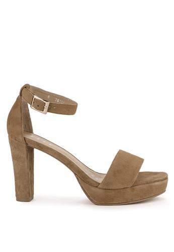 ELLE brown Ladies Shoes 30106Za B2BA1SH0FF87CDGS_1