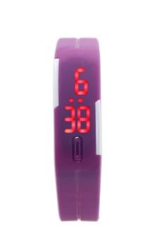 Digital LED Slim Unisex Silicone Bracelet Watch