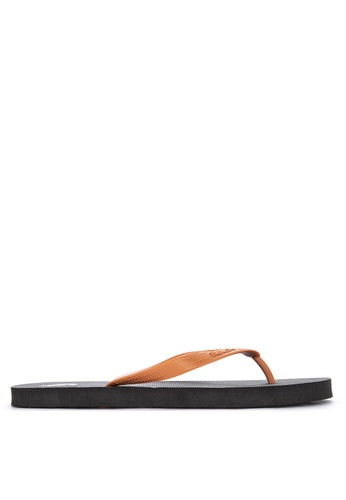 BENCH black Rubber Slippers 37A64SH2ACDB83GS_1