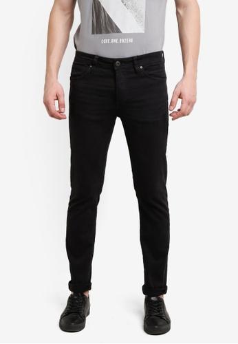 Jack & Jones black Glenn Fox AKM 360 Trousers JA987AA0RB4FMY_1