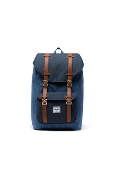 2e17ae1d05e Herschel blue Herschel Little America M Backpack Faded Denim/Indigo Denim -  17L 8E04DACF2AF0B1GS_1