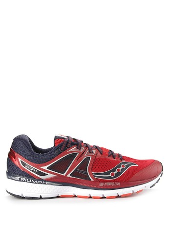 Saucony navy Triumph Iso 3 B3FD3SHEB26F8BGS_1