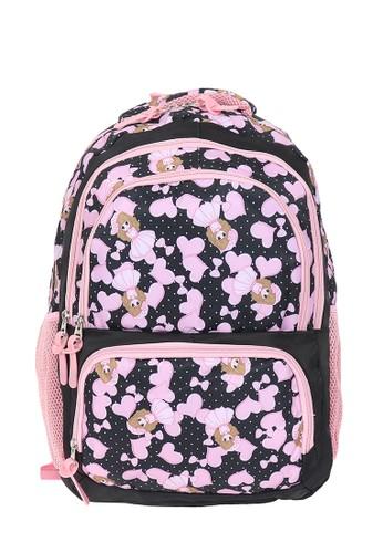 Prosport Backpack Prosport 9370-06 Black 55350AC6585D58GS_1