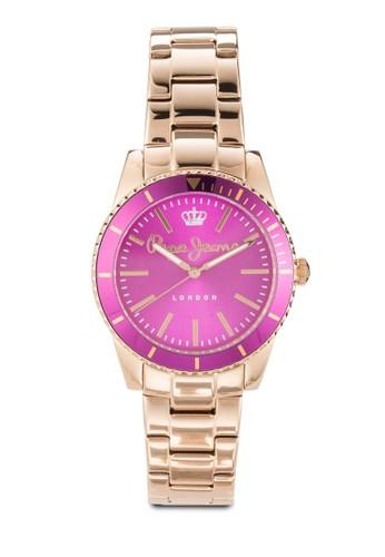 R2353102509esprit暢貨中心 Carrie 不銹鋼女士圓錶, 錶類, 飾品配件