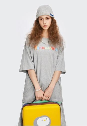 Twenty Eight Shoes Foam Printed Short T-shirt 1539S21 DF091AABDA6CADGS_1
