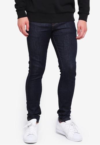 Dr Denim 藍色 修身牛仔褲 15FD2AA050A2A3GS_1