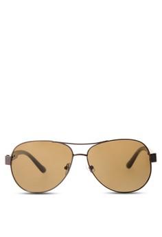 Eiffel Unisex Pilot Sunglasses