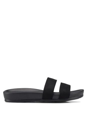 Public Desire black Peyton Sandals 20A2ESH6808959GS_1
