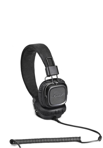 Marshall black Marshall Major II Headphone in Pitch Black for Android MA130AC92ZIDHK_1