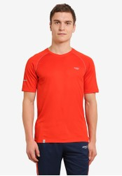 2GO orange GO Dry Athlete Short Sleeve T-Shirt 2G729AA0S600MY_1