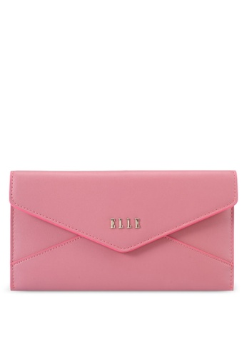 Elle pink Ell In The Name Of Elle Wristlet F2937AC3F7302FGS_1