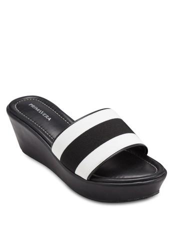 WEB 寬帶厚底涼鞋, 女鞋,esprit高雄門市 楔形涼鞋