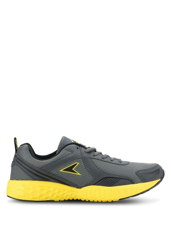 Power grey and yellow Athletic Shoes PO160SH0RE07MY_1