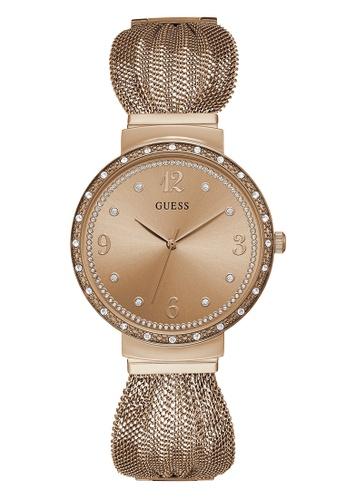 77f6ad2e39 Buy Guess Watch Ladies Rose Gold/Bronze-W1083L3   ZALORA HK