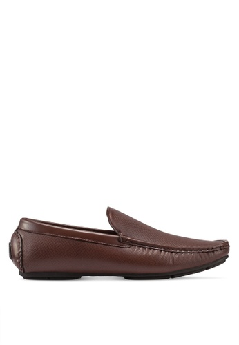 Bata brown Slip On Boat Shoes 5A457SH9E8EE51GS_1