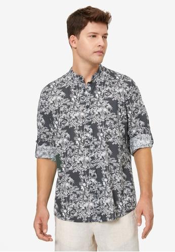 KOTON black Printed Shirt 86665AAF98113BGS_1