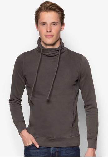 Felpa Garment Dyed Hoodie, 服飾,esprit台灣官網 外套