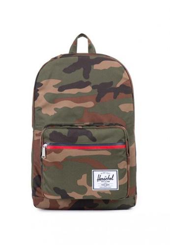 Herschel multi Pop Quiz/Zip Backpack 2D774AC3E358D9GS_1