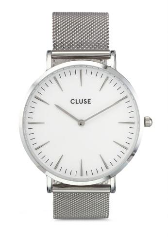 CLUSE silver La Boheme Mesh Silver/White CL977AC0SA34MY_1
