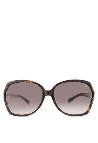 Kate Spade brown Iconic Metal Spade Sunglasses KA433GL54HWZMY_1