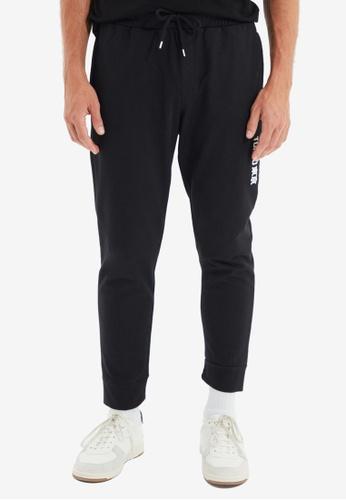 Trendyol black Black Jogger Pants C83A9AA83D12C6GS_1