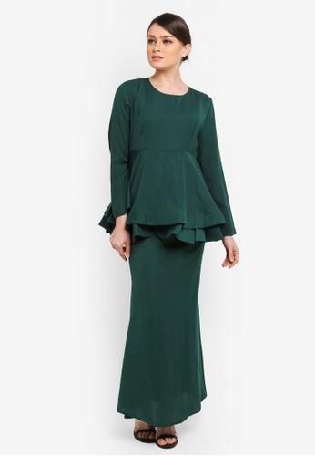 BYN green Muslimah Skirt BY059AA0SEANMY_1
