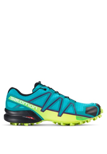Salomon blue Speedcross 4 Shoes SA438SH28WDBMY_1