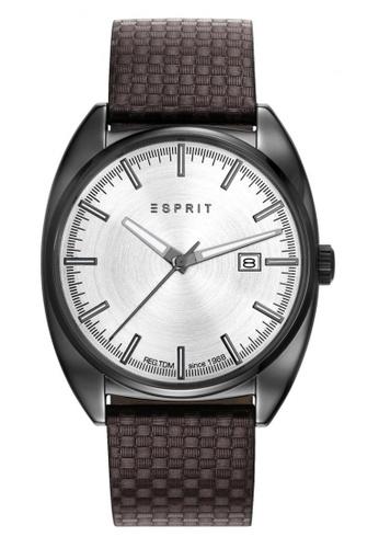 ESPRIT brown Esprit Robin Gunmetal/Brown Watch ES400AC97DCWSG_1