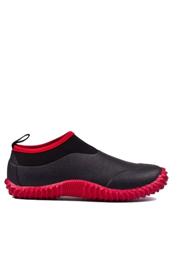 Twenty Eight Shoes black Edgy Design Rain Shoes VM30 D0DE3SHA3120AEGS_1