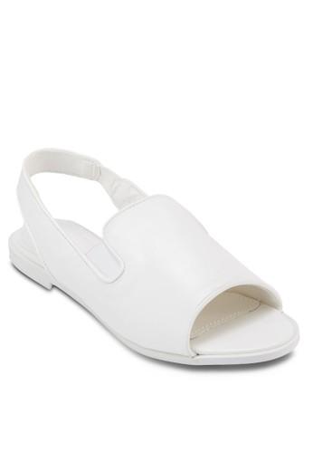 Casual Flat Sandals, zalora時尚購物網評價女鞋, 鞋