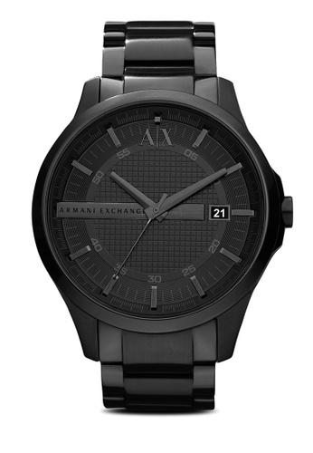 Armani Exchange black Hampton AX2104 Watch AR845AC87ZEMSG_1