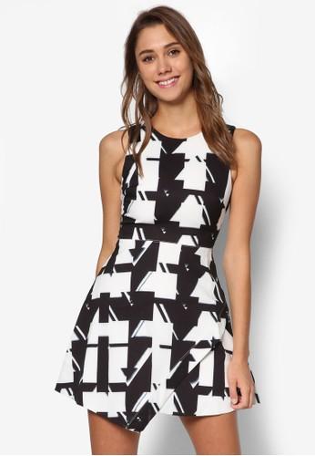 Fatina 印花傘擺洋裝, esprit 衣服服飾, 洋裝