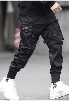 00c1405713 Twenty Eight Shoes Dark Tapered Cargo Pants Ixxx HK$ 469.00. Sizes M L XL  XXL