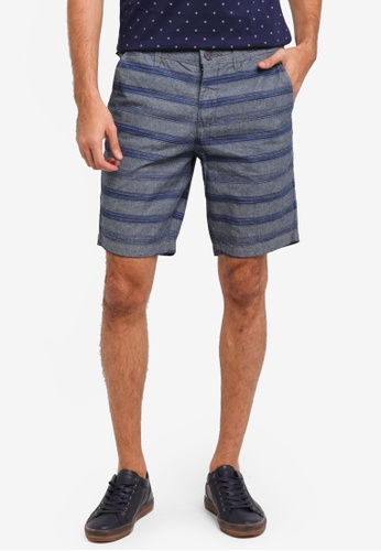 REGATTA grey Chino Shorts With All-Over Print 74227AA7904712GS_1