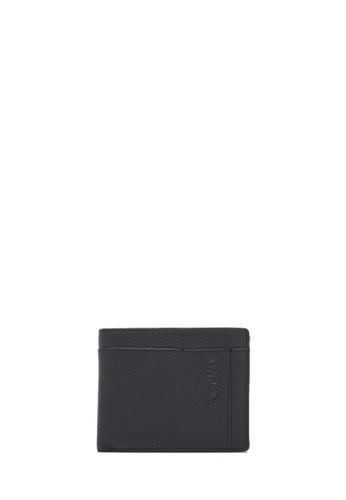 BONIA black Black Stimolante Short 3 Fold Wallet 1441AAC62F330DGS_1