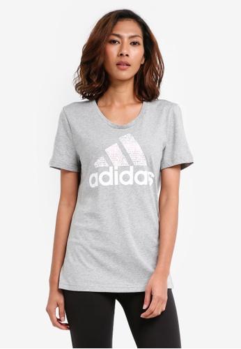 adidas grey adidas foil text bos AD372AA0SUMHMY_1
