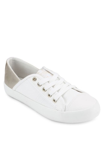 撞色鞋esprit taiwan背繫帶休閒鞋, 女鞋, 鞋
