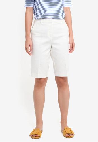ESPRIT white Woven Regular Shorts 87858AAEB90083GS_1