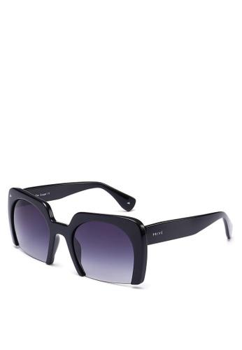 Privé Revaux black The Cougar Sunglasses PR660GL0RC42MY_1
