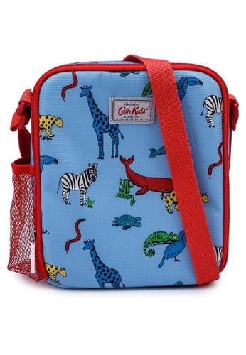Cath Kidston grey and blue Animals Kids Lunch Bag 677DEKCF70EE23GS_1