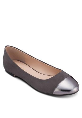 金屬鞋頭基本款平底鞋, 女鞋, esprit 內衣鞋