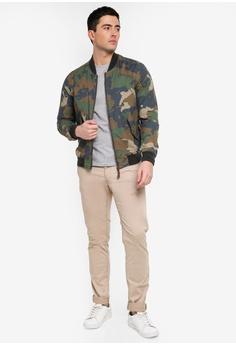 a9abf792461 55% OFF MANGO Man Cotton Camo-Print Bomber Jacket RM 313.90 NOW RM 141.90  Sizes M L XL XXL