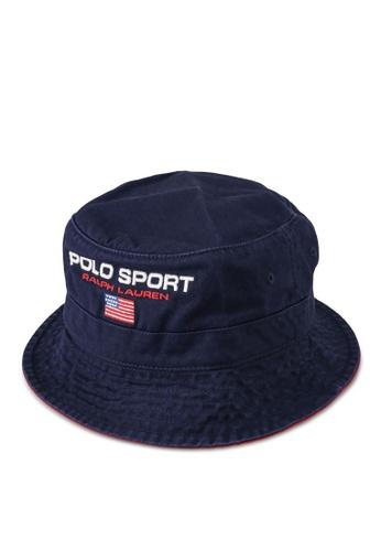 Polo Ralph Lauren navy Loft Bucket Hat A6DF6AC7FAEA5DGS_1