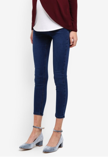 TOPSHOP blue Maternity True Blue Joni Jeans TO412AA0SRSIMY_1
