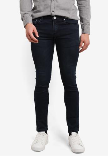 Electro Denim Lab blue Dub Tight Fit Jeans EL966AA0SF7ZMY_1