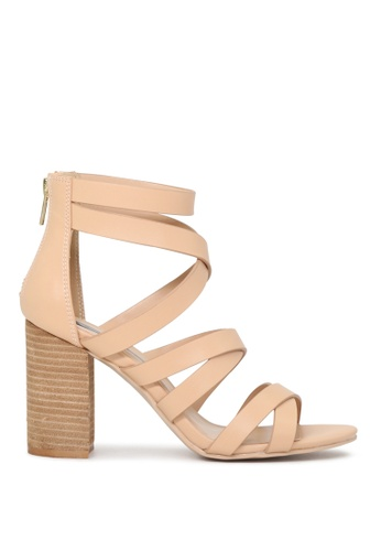 London Rag beige Hettie Gladiator Sandals 09357SHAE319E4GS_1