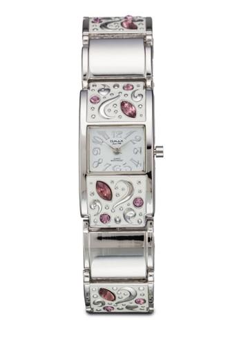 JES140S  閃鑽刻花esprit台灣網頁鍊錶, 錶類, 不銹鋼錶帶
